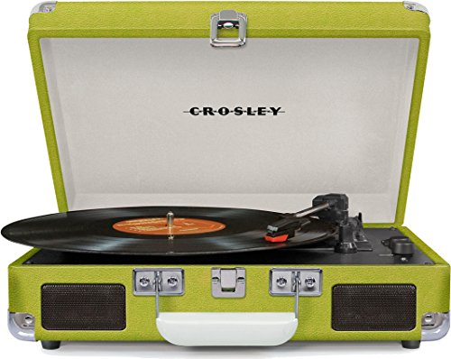 Crosley Cruiser Deluxe Green With Added Bluetooth And Pitch