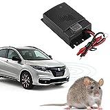 12V Car Rat Rodent Ultrasonic Repellent Vehicle Chases Rat Rodent Mice Moles Chipmunks