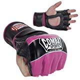 Combat Sports Pro-Style MMA Gloves, Pink, Regular