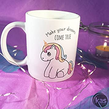 Your Come Mug TrueCuisine Dreams Make Licorne Jc5ulKTF13