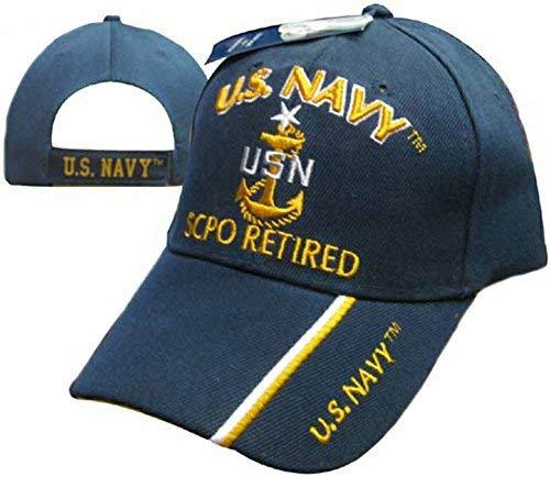 U.S. Navy Senior Chief Petty Officer Retired Cap