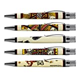 Tornado Deluxe Playing Card Rollerball Pen Set