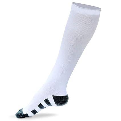 Calcetines de compresión, calcetines elásticos, maratón, calcetines para correr, alivio del dolor