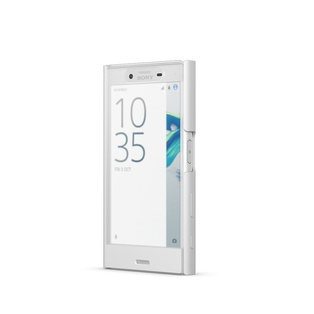 Sony Style Cover Touch Case for Xperia X Compact - White