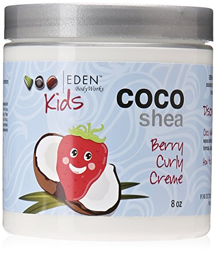 Price comparison product image Eden BodyWorks Coco Shea Berry Curly Creme, 8 Ounce