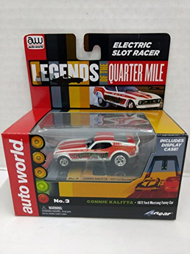 Auto World SC285 Legends of the Quarter Mile Connie Kalitta 1972 Ford Mustang Funny Car HO Scale Electric Slot (Ho Slot Car Chassis)