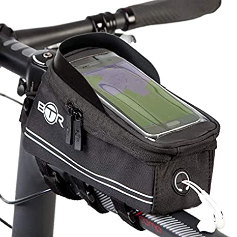 a0b1545f0319 BTR Bicycle Frame Bike Bag & Cell Phone Holder 4th Generation with ...
