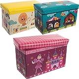 Staubox / Spielzeugbox / Aufbewahrungsbox / Spielzeugkiste in 3 verschiedenen Designs (Zirkus)