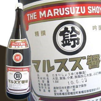 すずみそ醸造場 マルスズ醤油(たまり醤油)1800ml