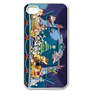 Yo-Lin case Style-12 - Disney All Characters Stained Glass Phone Case For Iphone 4 4S case cover