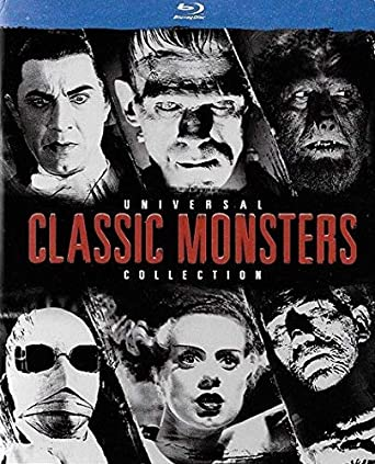 Amazon Com Universal Classic Monsters Collection Blu Ray Movies Tv