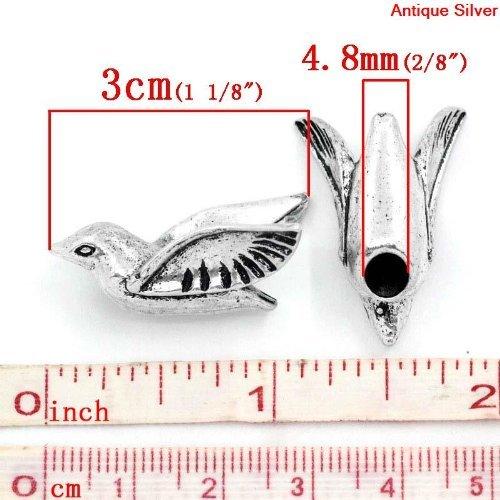 Sexy paillettes femmes de Colombe Oiseaux Charm pour bracelet chaîne serpent