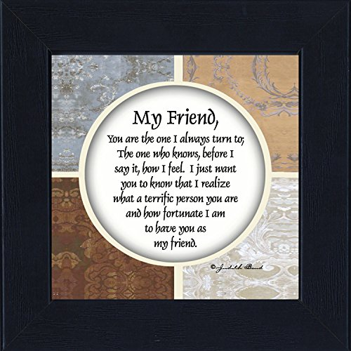 My Friend, Best Friends Picture Frame, Friends Picture Frame, 6x6 75506BC