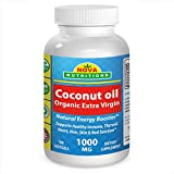 1000 uses for coconut oil - Organic Coconut Oil 1000 mg 180 Softgels by Nova Nutritions