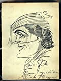 1920-30's Vincent Zito Caricature of Grace Hayes