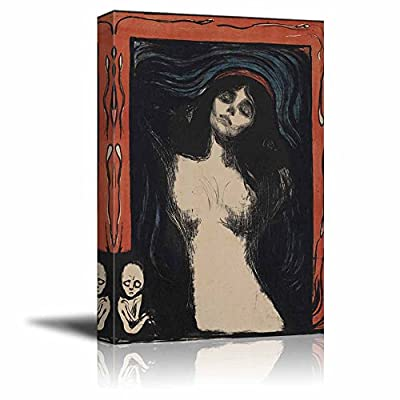 Madonna by Edvard Munch Print Famous Painting Reproduction
