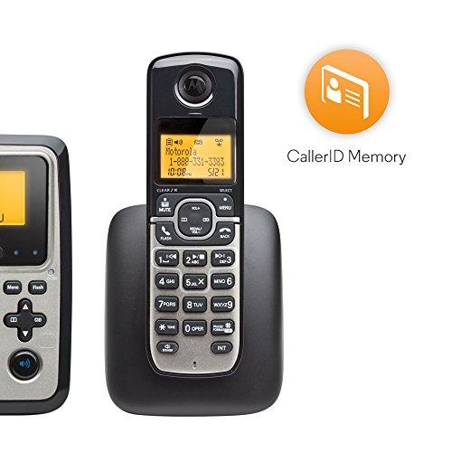 Motorola DECT 6.0 Base Phone Cordless Handset Answering M802C