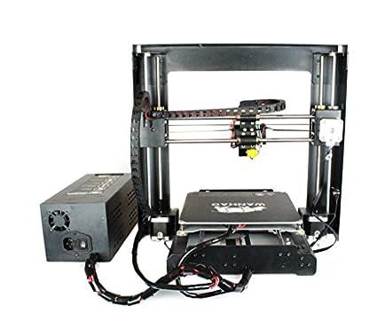 Wanhao i3 V2 - Impresora 3 D (precision de 0.1 mm, tamaño de la ...