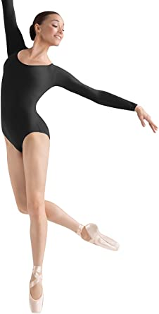 Bloch Dance Womens Lepsi Microlux Long Sleeve Leotard