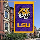 Evergreen Enterprise Double Sided Flag Nylon Lsu 28″ X 44″