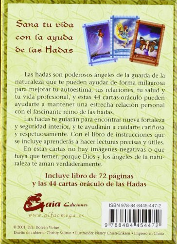 Sanando Con Las Hadas / Healing With The Fairies: Cartas ...