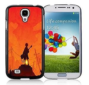 Fashion Custom Designed Guitar Hero Samsung Galaxy S4 I9500 Black Phone Case CR-269