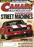Camaro Performers Magazine, Vol. 5, No. 9 (November, 2008) offers