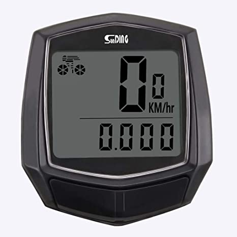 ALLTA Cableado Impermeable LCD Digital Ciclo Bicicleta Bicicleta ...
