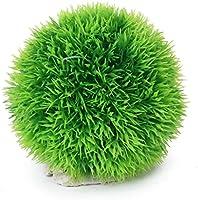 ma-on Artificial pelotas de algas acuario pecera adorno decoración (verde)