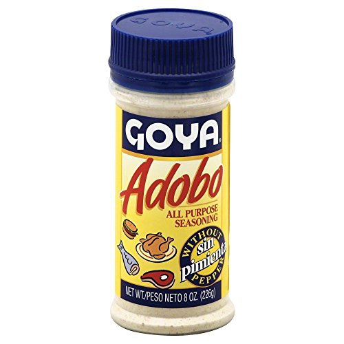 Goya Adobo without Pepper 8.0 OZ(Pack of 3) by Goya