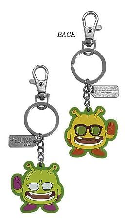 Dr.Slump- Nikochan y sirviente llavero goma (Sd Toys SDTSDT02355)