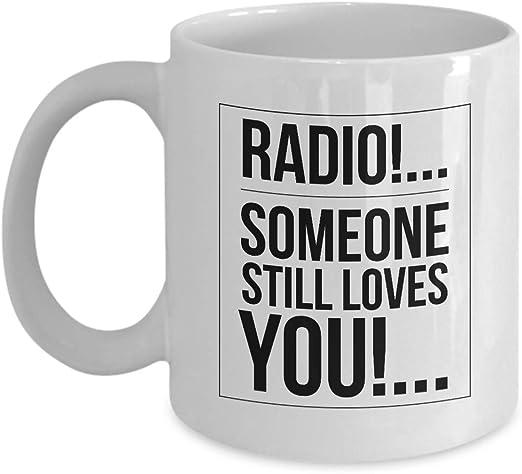 Taza de café con diseño de banda de roca – Radio Someone Still ...