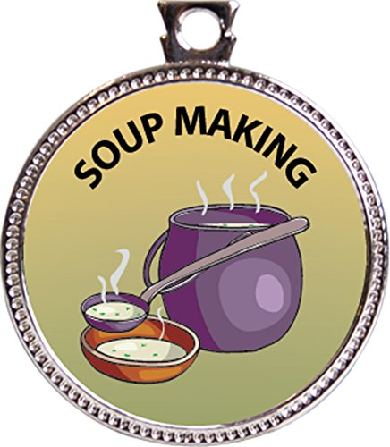 making soup with - 9