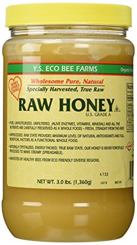 Y.S. Eco Bee Farms, Raw Honey, 3.0 lbs  Pack of 2