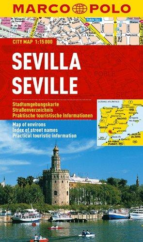 MARCO POLO Cityplan Sevilla 1:15 000 (MARCO POLO Citypläne)