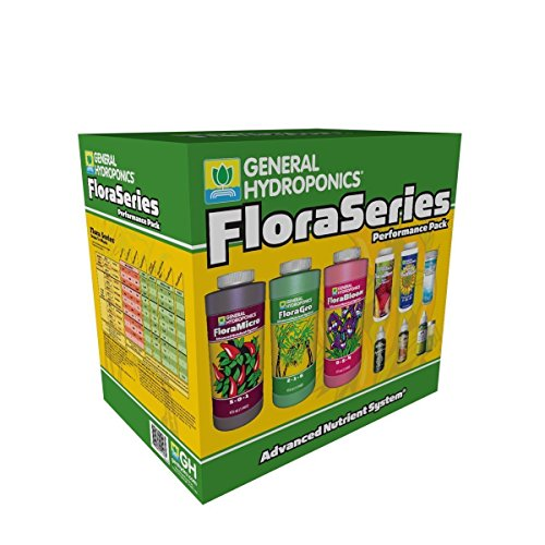 General Hydroponics Flora Series Performance Pack (General Hydroponics Nutrients)