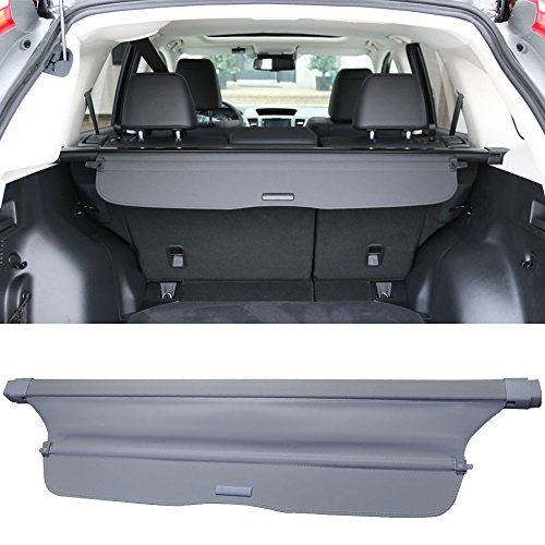 Cargo Cover Fits 2012-2016 Honda CRV | Factory Style Gray Luggage Carrier Rear Trunk Security Cover by IKON MOTORSPORTS | 2013 2014 2015