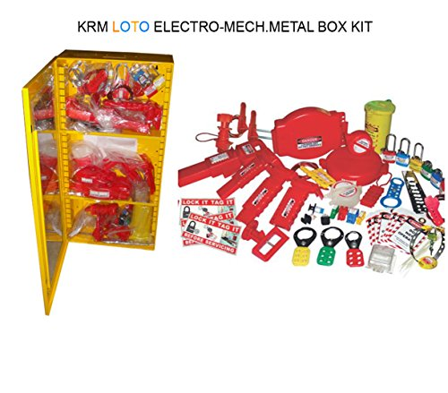 Electro - Mechanical Metal Box Kit by LOTO