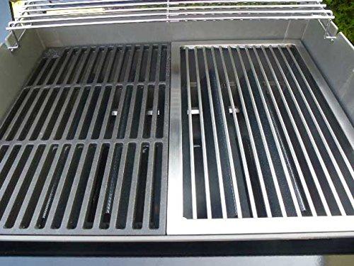 Edelstahl Grillrost für eine Hälfte für WEBER SPIRIT E 210 bis 2012