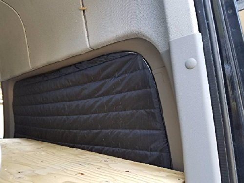 Insulated (2) Rear Window Covers w/Thinsulate 4-Season by thisvanlife
