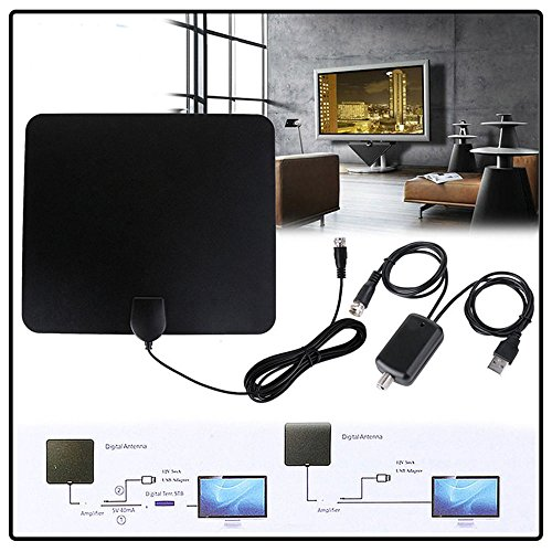 (High Definition TV Antenna Fox HDTV DTV VHF Scout Style TV Fox Cable New Super Antenna)