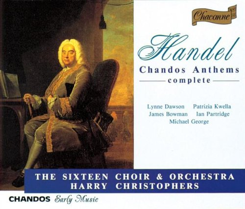 Handel: Chandos Anthems (Complete) by Chandos