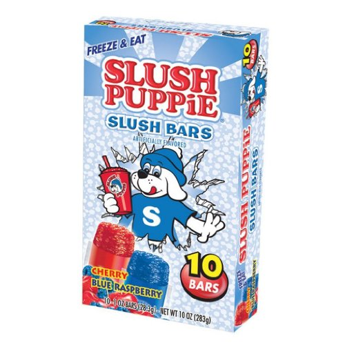 Slush Puppies (10 count) 7 packs/70 Popsicles by Slush Puppies