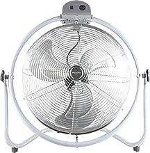 Bastilipo Mónsul Ventilador Industrial de Suelo, 140 W, Metalizado