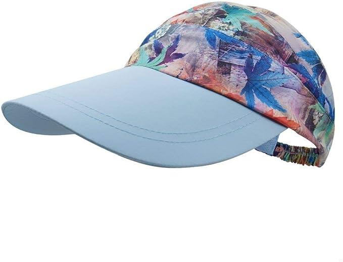 Gorras Damas Verano Protección del Ocio Moda Imprimir Deporte ...