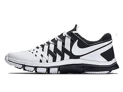 brand new 8ed4a 83d9f Nike Men s Free TR 5.0 V4 Running Training Shoes White Black