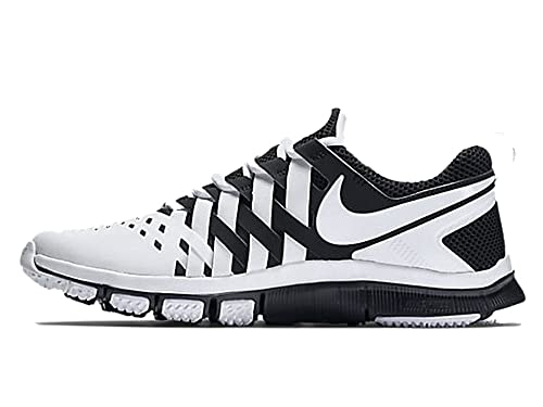 422b3463c08f ... discount code for nike mens free trainer 5.0 white black training shoes  667520 100 size 12