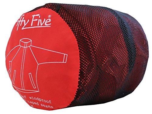 Rojo Fifty Wellington Unisex Adulto Impermeable Five Abrigo TxT6wqrvY