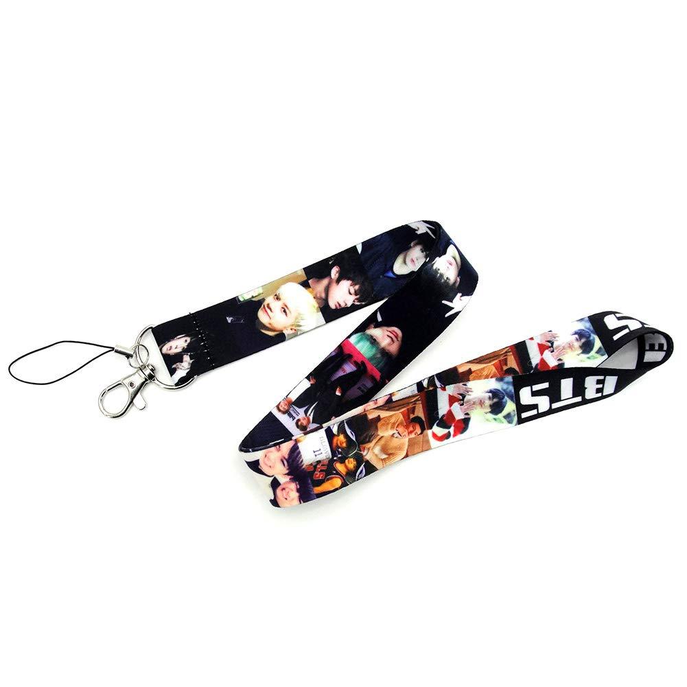 TXT Youyouchard Kpop BTS Blackpink TXT IZONE Lanyard Keychain Key Chain Keyring Neck Straps Lanyard