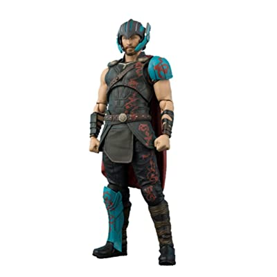 TAMASHII NATIONS S.H. Figuarts Thor & Thunderbold Effect Set Thor: Ragnarok Action Figure Set: Toys & Games